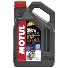Масло моторное MOTUL Snow Power 0W-40 4Т, 4 л. (105892)