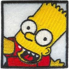 Bart Simpson с термоклеем.