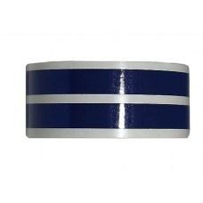Наклейка на колесный диск (пара) dark blue