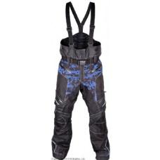 Снегоходные штаны Taiga, черный/синий