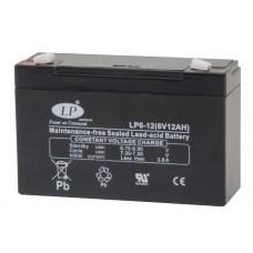 Аккумулятор Landport LP6-12, 6V, AGM