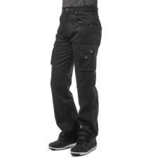 Джинсы с кевларом MOTEQ Hydra Black, мужской(ие)