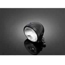 Фара основной свет Black Bates, круглая, Ø 120мм