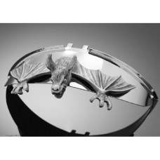 Декоративная накладка на козырек фары BAT
