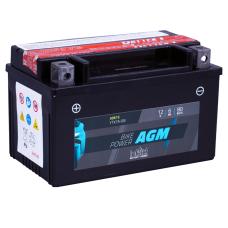 Аккумулятор intAct IA YTX7A-BS, 12V, AGM