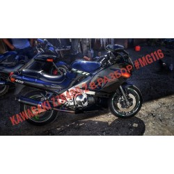 Поломался Kawasaki ZZR400-2 2000 года ( В РАЗБОР)