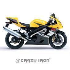 CRAZY IRON Защита RACE RAIL SUZUKI GSX-R600, GSX-R750 `04-`05